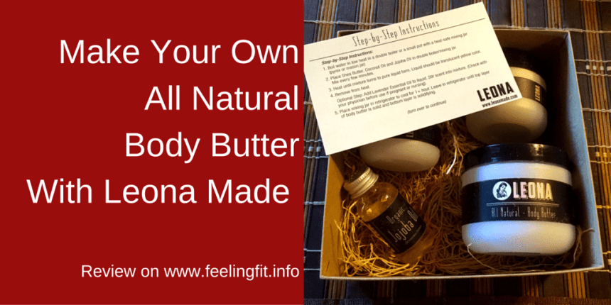 Make Your OwnAll Natural Body ButterWith