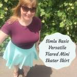 Review Simlu Mini Skater Skirt