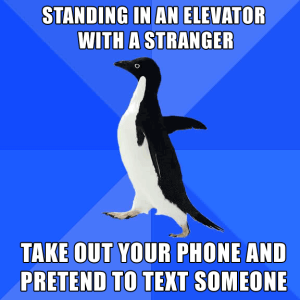 Don't be a socially awkward penguin