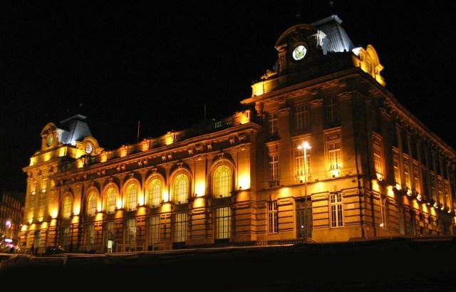 Exterior da Estação de São Bento, no Porto
