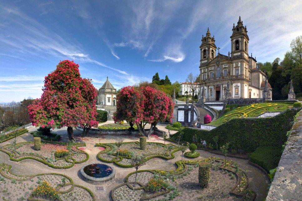 Turismo religioso em Portugal - Santuário do Bom Jesus em Braga