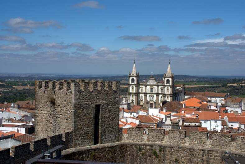 Portalegre - Sé Catedral vista do Castelo