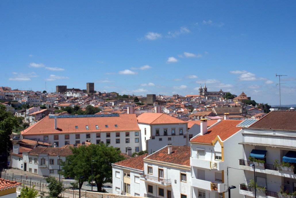 Portalegre - Vista da Capela do Calvário