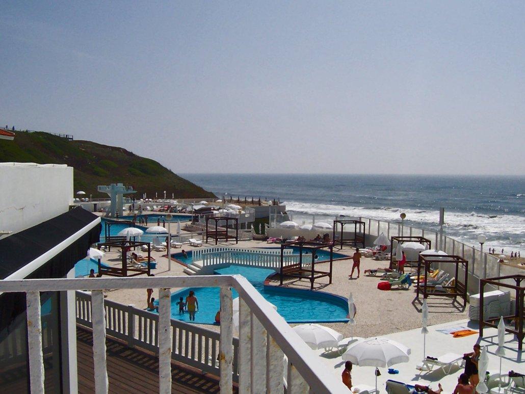 A agradável praia de São Pedro de Moel