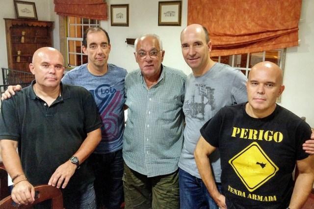 Banda Índice com Paulo de Carvalho
