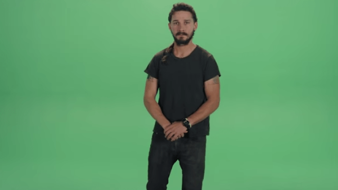 shia labeouf inspiration