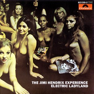 Jimi Hendrix Electric Ladyland Album Cover UK Version Naked