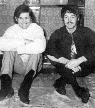 The Beatles The Monkees Paul McCartney Micky Dolenz