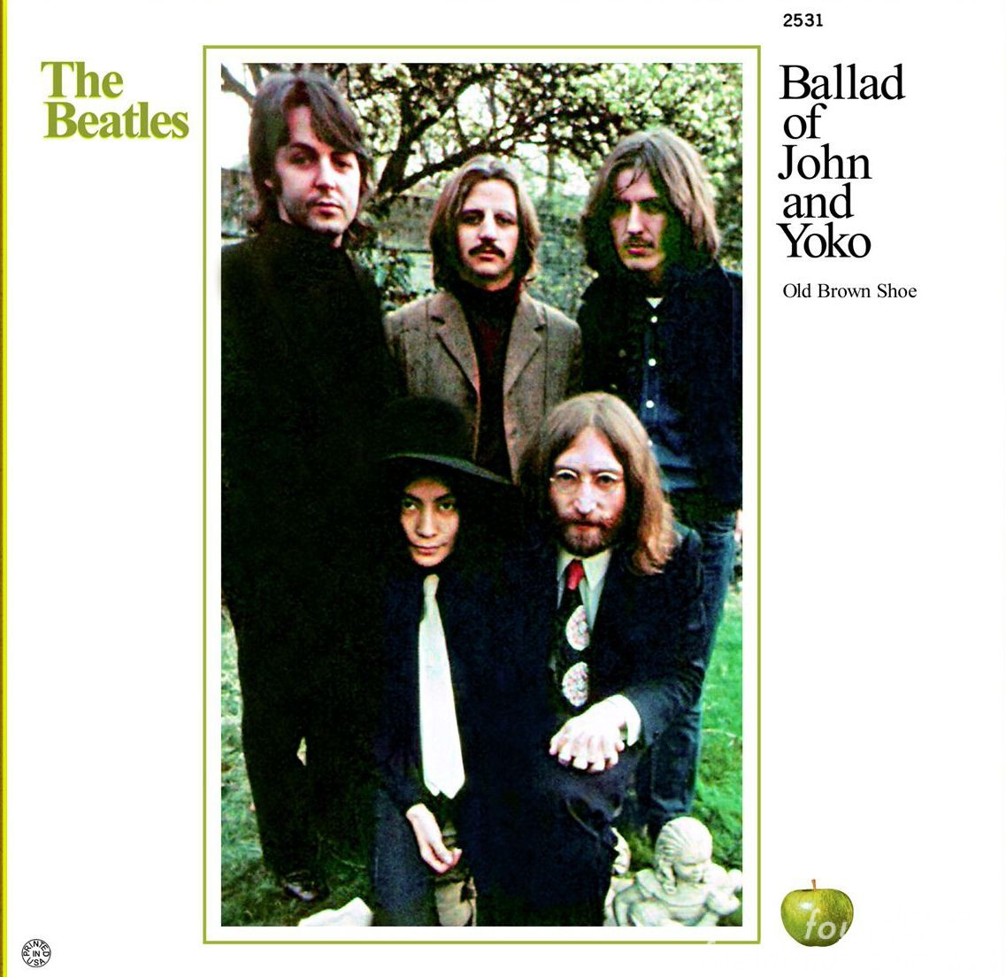 Image result for the ballad of john and yoko images