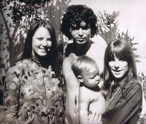 Anne Robin Morrison Sister With Brother Jim Morrison The Doors