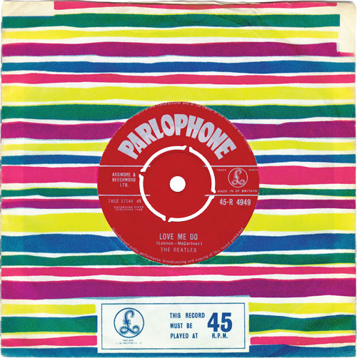 The Beatles Love Me Do 45 Andy White Ringo Starr