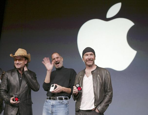 Bono U2 Apple Mac Icon Image Steve Jobs The Edge