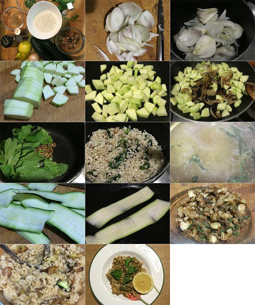 Pasos Arroz pilaf verde | Feelomena's Kitchen - Web Oficial