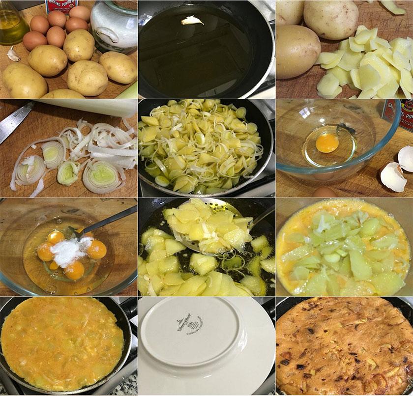 Pasos tortilla de patatas | Feelomena's KItchen - Web Oficial