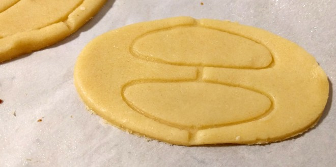 Jubilee cookies, ready to be baked.