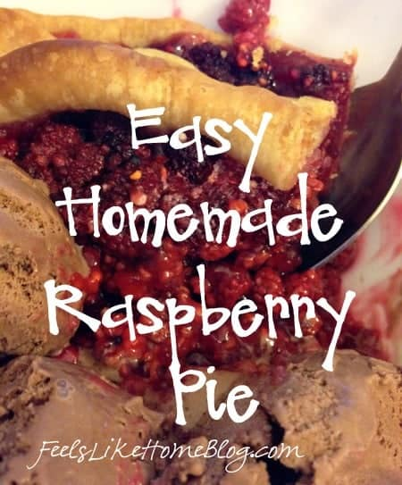 Easy Homemade Raspberry Pie Recipe