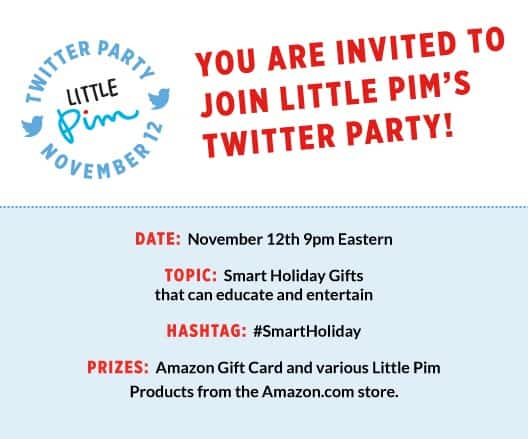 Little Pim #Smartholiday Twitter party