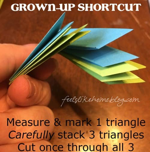 Grown up shortcut