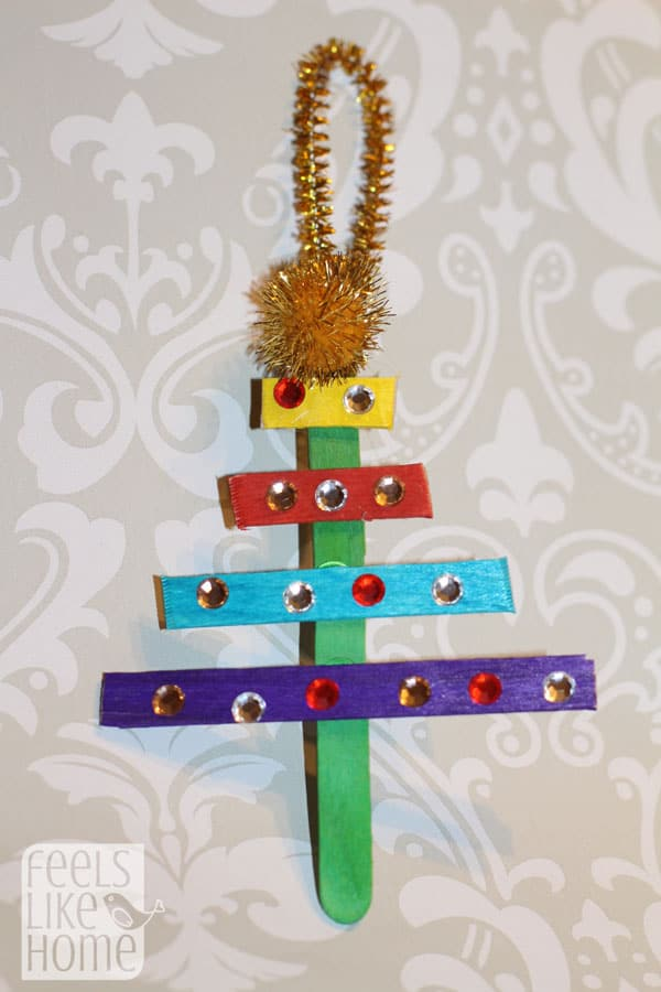 christmas-tree-crafts-for-preschoolers-popsicle-sticks-gems