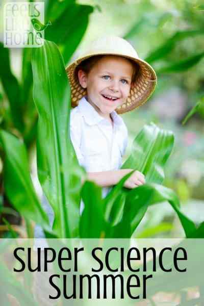 Free summer science camp at home with 11 weeks of daily activities! This is so cool!