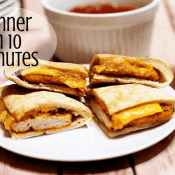 Chicken Melts – Quick and Easy Meal in 10 Minutes or Less