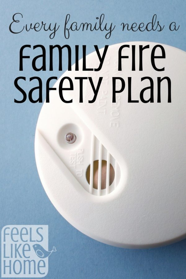 Every family needs a fire safety plan, but especially those with kids. Teach your kids about fire safety, make a plan, and practice it together!