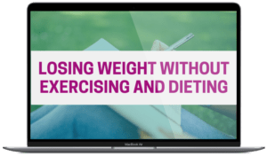 how to lose weight without exercising and diet