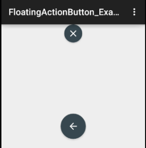 Colorful Floating buttons