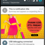 BigPictureStyle Notification in Android Example