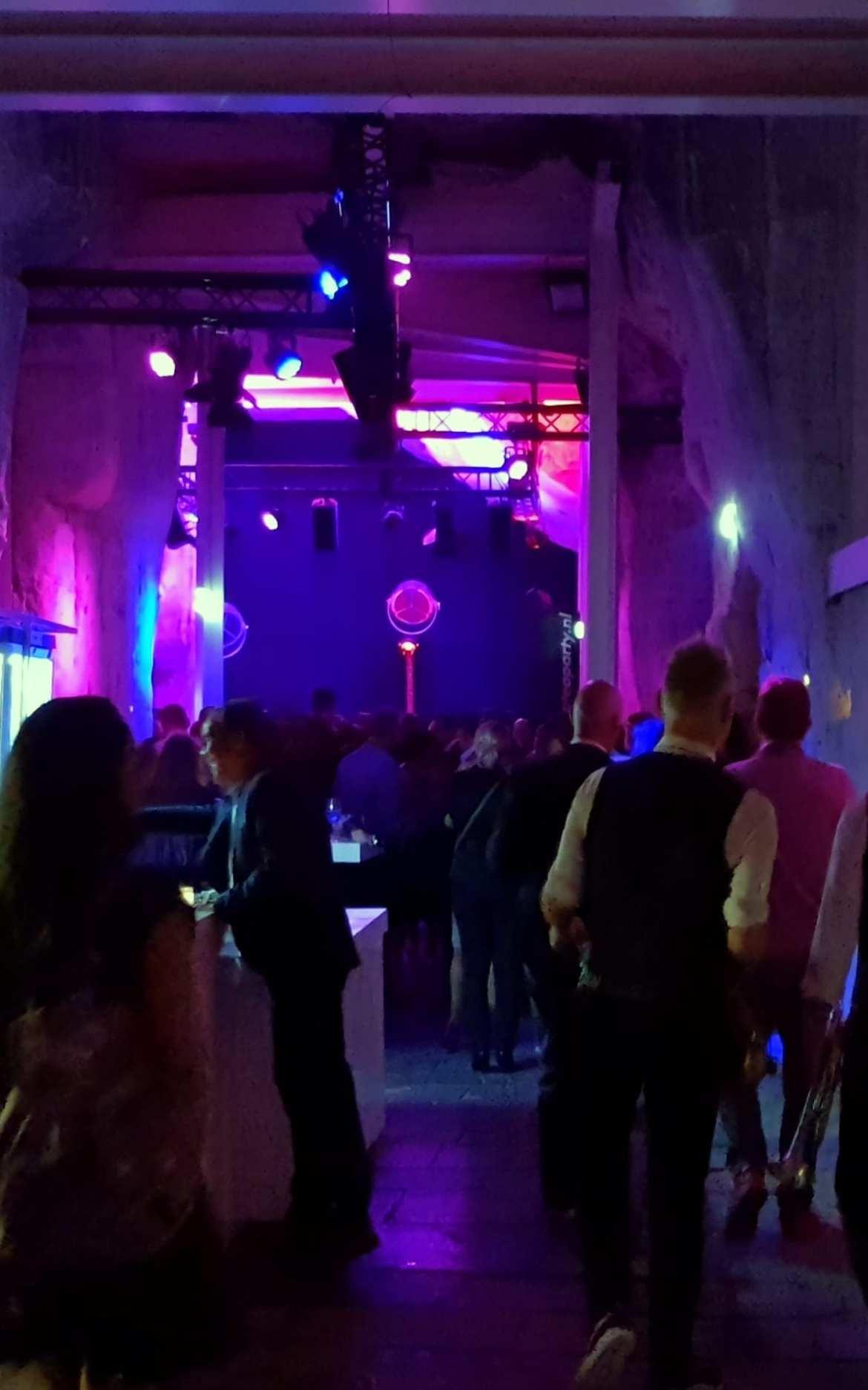 Château Neercanne Maastricht feest in de Mergelgrot
