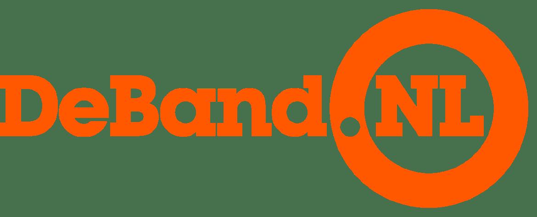 coverband DeBand.NL - logo oranje trans | feestband.com