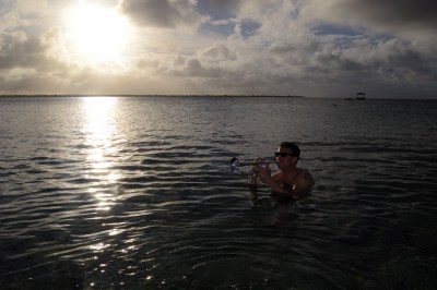 Coco Beach Bonaire Oud en Nieuw party Dutch Caribbean   feestband.com