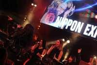 Leona Philippo en Berget Lewis 2 souldivas voor Nippon Express @ The Patio Claus feestband.com