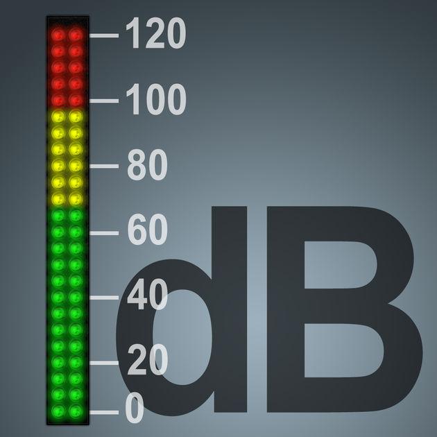 decibel-geluidsvolume