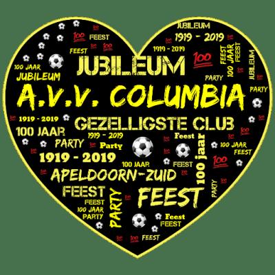 Jubileum voetbalvereniging AVV Columbia met knalfeest op Zwitsalterrein   feestband.com