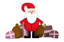 De kerstkabouter komt