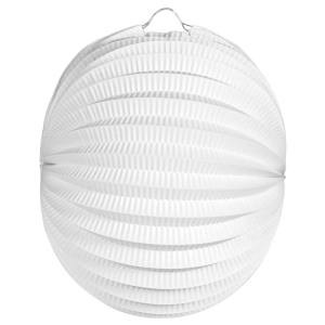Lampion Wit 22 cm brandvertragend