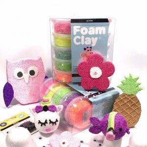 foam clay kinderfeest pakket