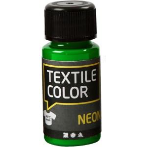 textielverf neon groen