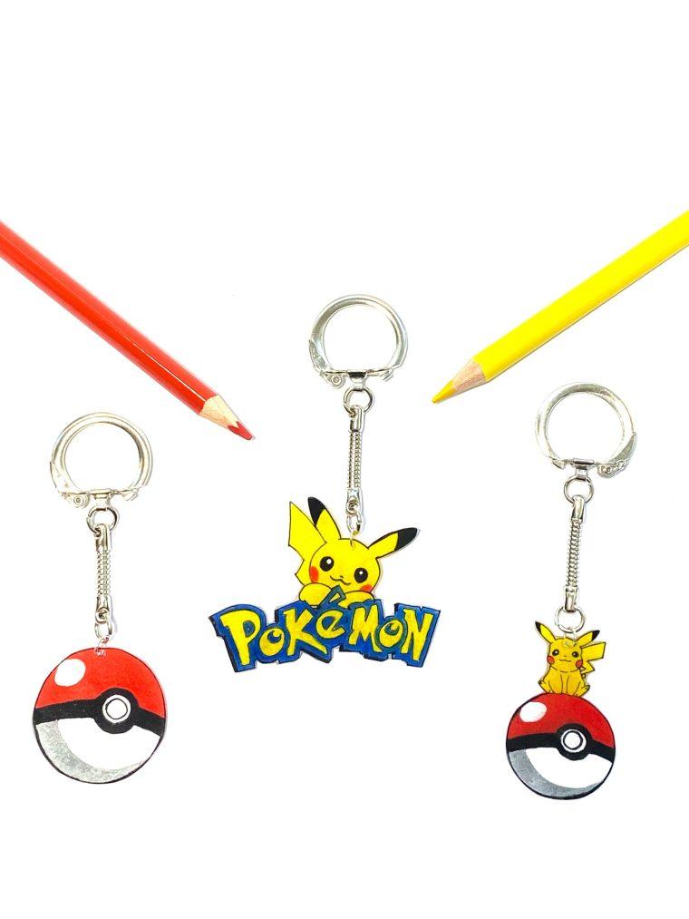 pokemon pikachu sleutelhanger