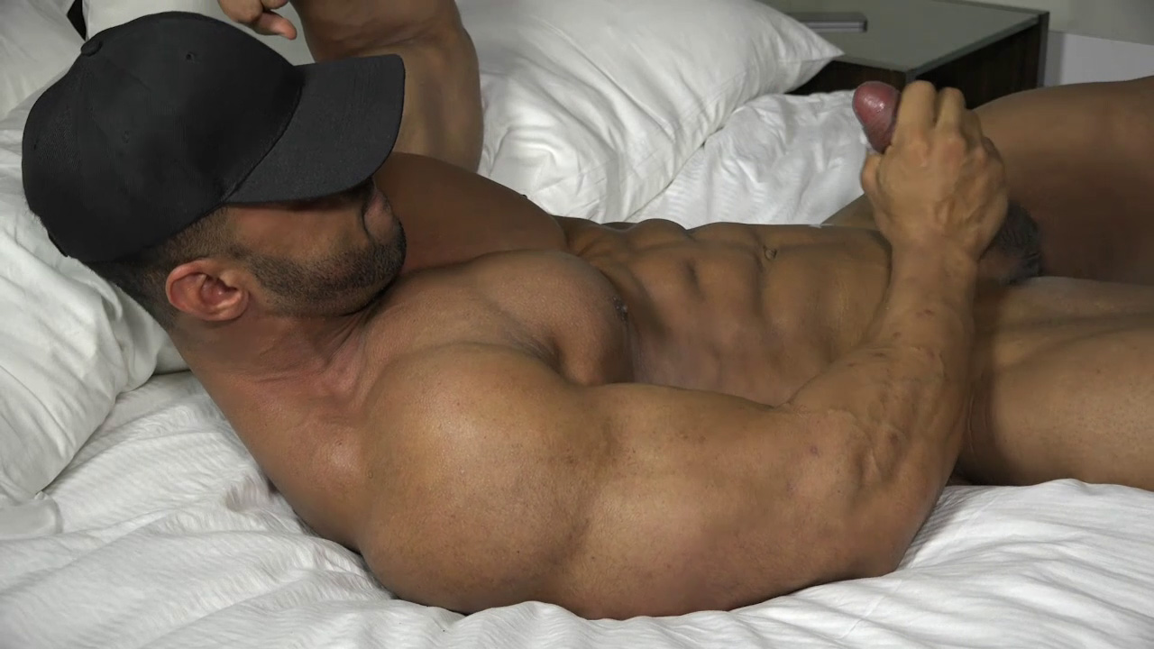 Made latino muscle cock would give