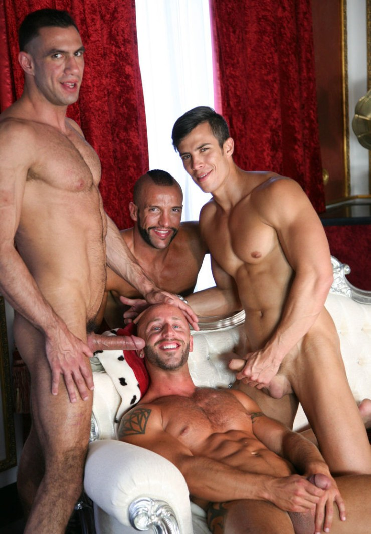 Making of First Time 2 – Scene 4 Maikel Cash Sergio Serrano Aymeric Deville Donato Reyes kristen bjorn fousrome group sex male feet uncut cocks (7)