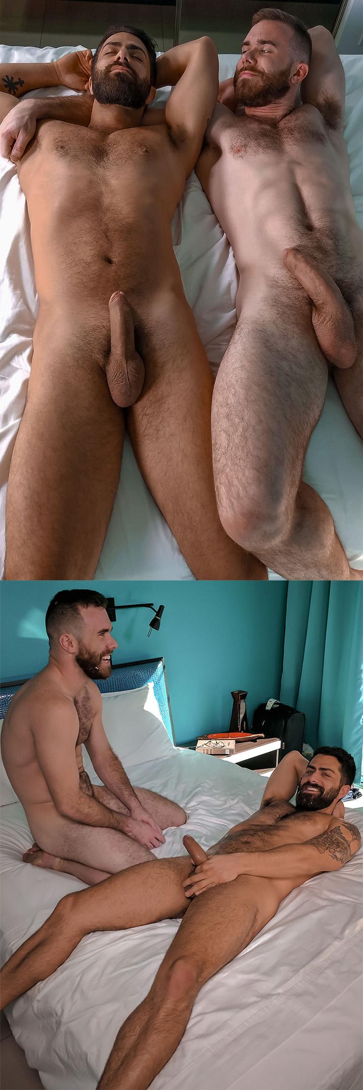 TitanMen Swap Scene 1 Matthew Bosch Fucks Adam Ramzi Gay Condom Sex Huge Uncut Cock Closeup Oral Sex Closeup Male Feet Hairy Men Hairy Chest Legs Messy Cum Bonus
