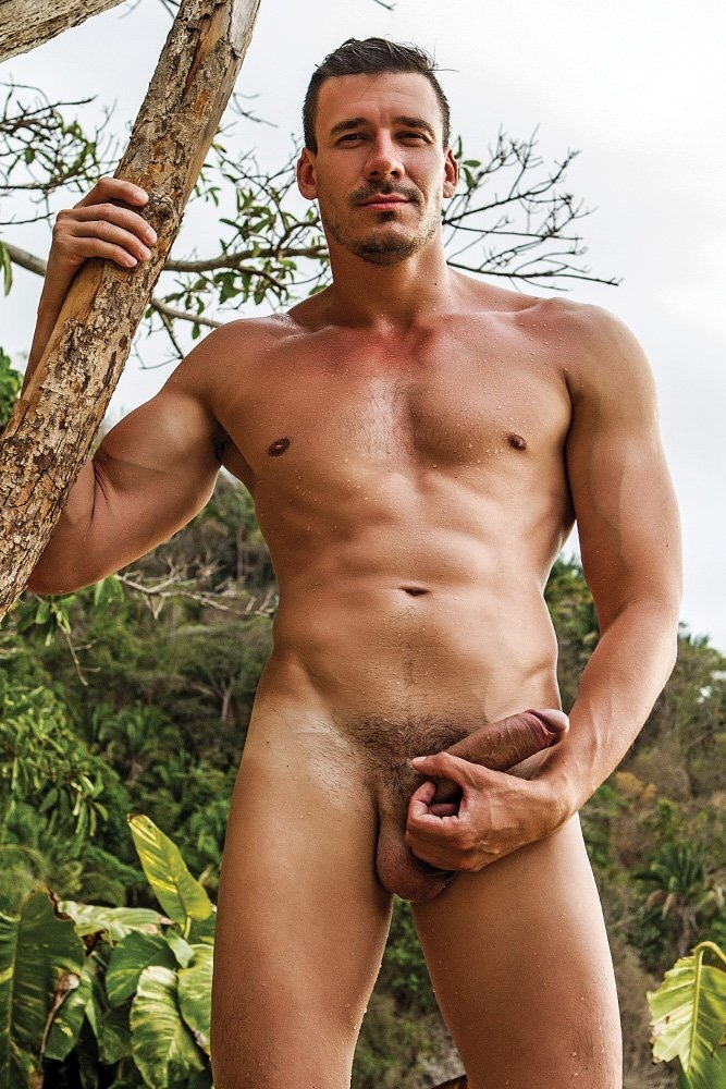Lucas Entertainment Roman Berman Damon Heart Gay Bareback Sex Uncut Cock Rimming Male Feet Soles Toes main