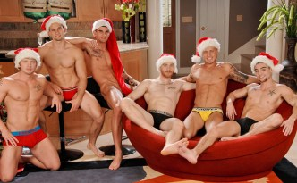 NextDoorBuddies Christmas Orgy Johnny Torque James Huntsman James Jamesson Brody Wilder Tyler Torro Anthony Romero feat