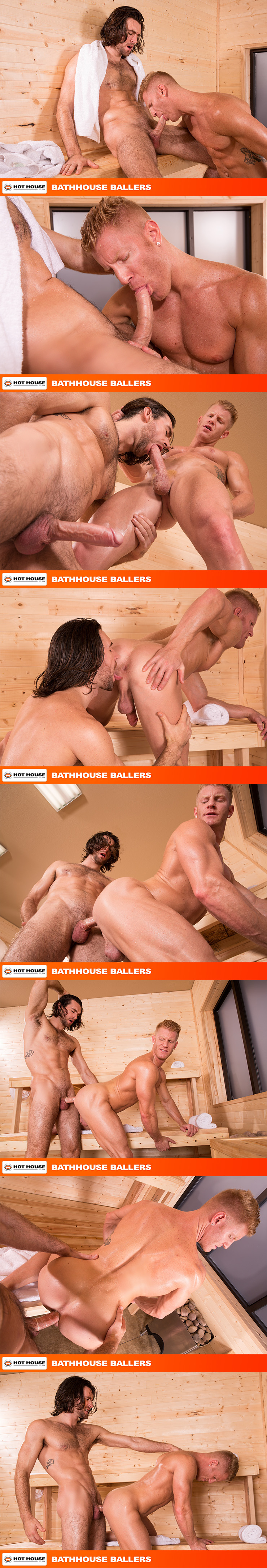 HotHouse Johnny V Woody Fox Gay Condom Sex Rimming Gay Sauna Big Cock Male Feet Hairy Dude Hairy Chest 2