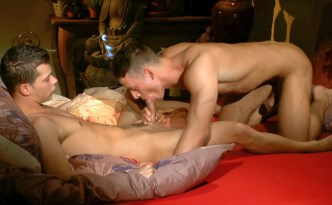BelAmi Night Scene Julien Hussey Zac DeHaan Gay Bareback Sex European Porn Male Feet Uncut Cock Messy Cum feat