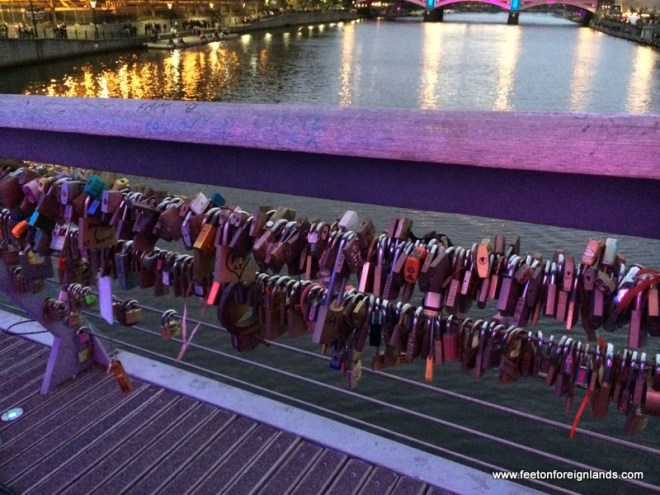 Lovelocks on the Yarra