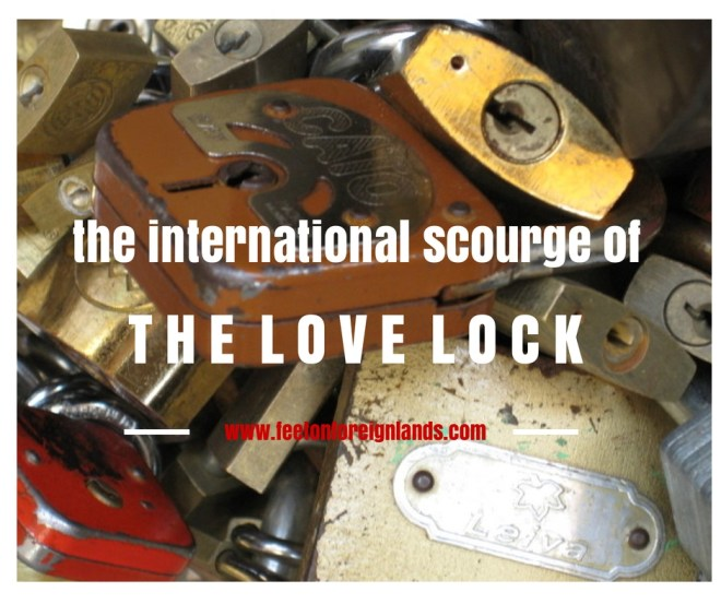 international scourge of love locks