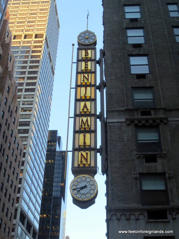 Benjamin Hotel, Midtown NYC